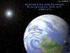 Планета земля в космосе