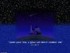 Звездное небо и комета