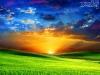 Красочный закат