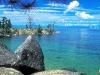 Камень на берегу