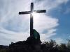 Крест освещенный солнцем
